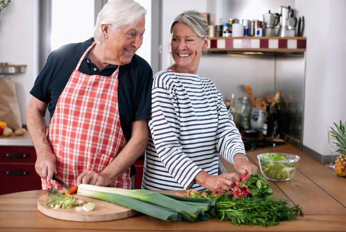 Советы диетолога - о том, как питаться после 65.