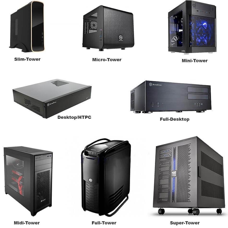 Особенности и типы корпусов компьютера